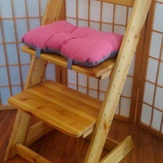 ATAN Sedák na dětskou židli Klára 2 Růžovo-fialová