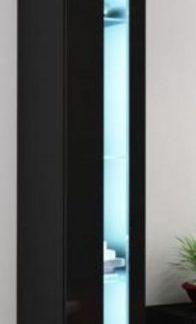 Cama Vitrína VIGO NEW otevřená - černá