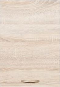 BRW Kuchyňská skříňka Junona Line G1D//57-LP dvířka Bílý lesk/korpus bílý