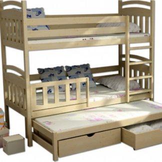 Vomaks Patrová postel s přistýlkou PPV 001 - 1210/BAR20