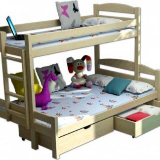 Vomaks Patrová postel s rozšířeným spodním lůžkem PPS 001 - 1231/BAR12