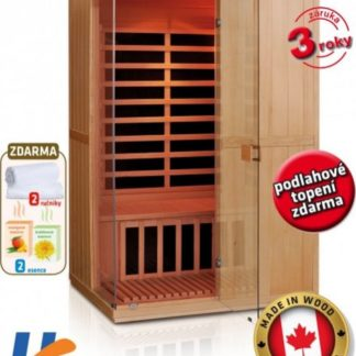 V-Garden Infrasauna DeLuxe 2200 Carbon - BT