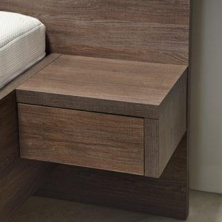 Ahorn Noční stolek Salina jednozásuvková oboustranný (2 ks)
